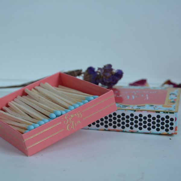 Long Coloured Matches