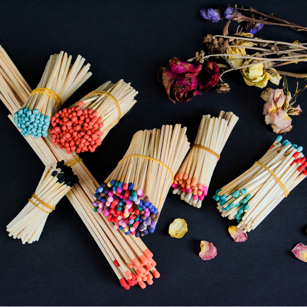 Scented Matchsticks with Different Kinds of Aroma