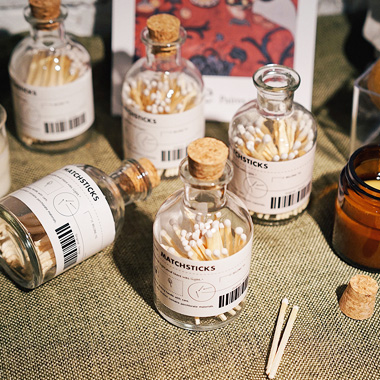 Apothecary Jar Matches Wholesale
