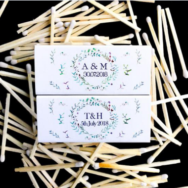 Personalized Wedding Matchbooks