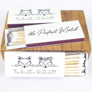 Personalized Wedding Gift Matches